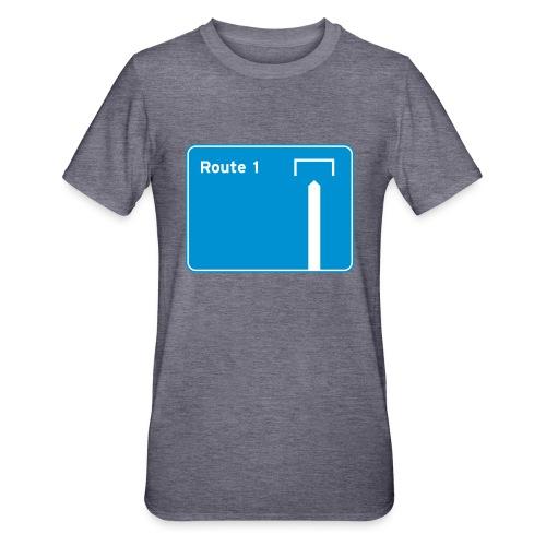 Route 1 - Unisex Polycotton T-Shirt