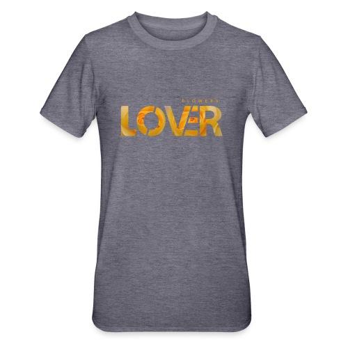 Flowers Lovers - Yellow - Maglietta unisex, mix cotone e poliestere