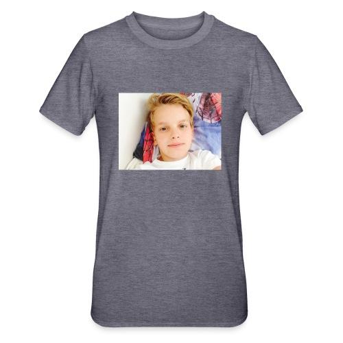 first design - Unisex polycotton T-shirt
