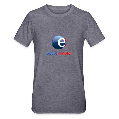 Povre emploi - T-shirt polycoton Unisexe