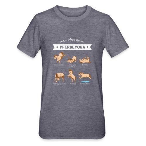 Pferdeyoga - Unisex Polycotton T-Shirt