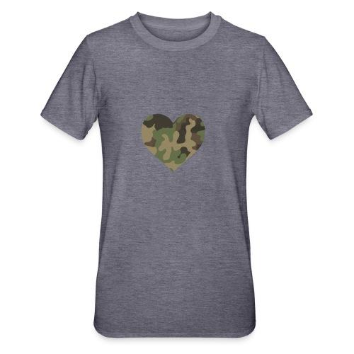 CamoHearth - Koszulka unisex z polibawełny