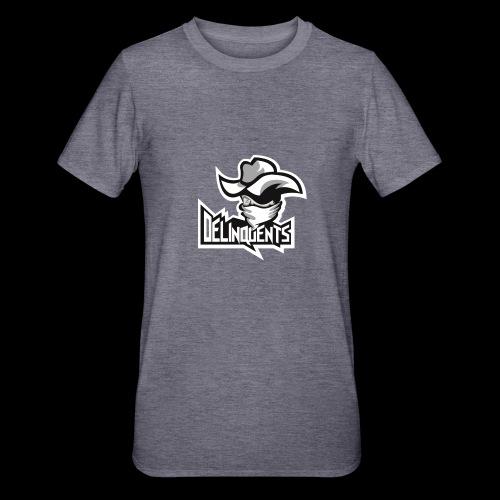 Delinquents TriColor - Unisex polycotton T-shirt