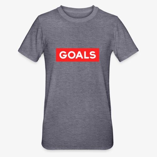 GOALS SQUARE BOX - Unisex Polycotton T-Shirt