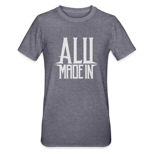 logo_alumadein_vecto_blan - T-shirt polycoton Unisexe