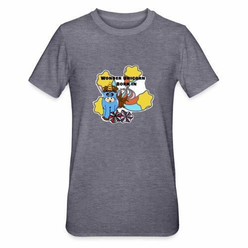 Une merveilleuse licorne est née (pour garcon) - T-shirt polycoton Unisexe