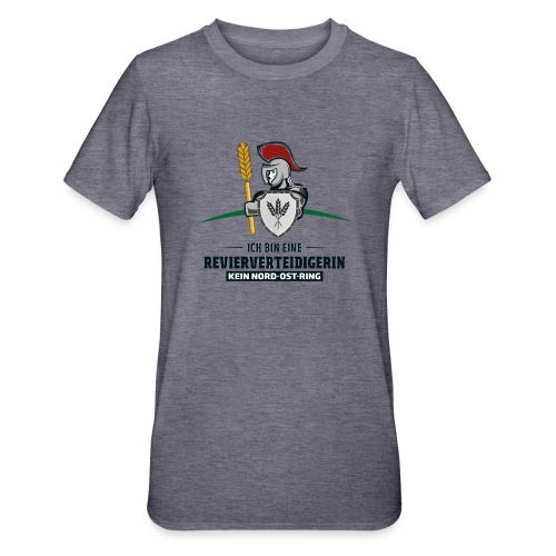 Revierverteidigerin rot - Unisex Polycotton T-Shirt