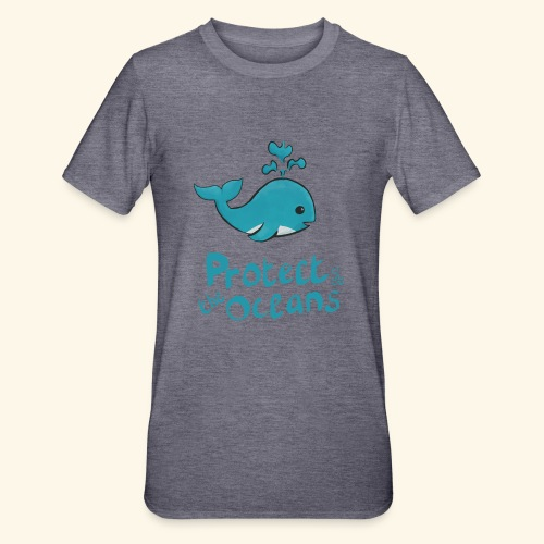 Protèges les océans - T-shirt polycoton Unisexe