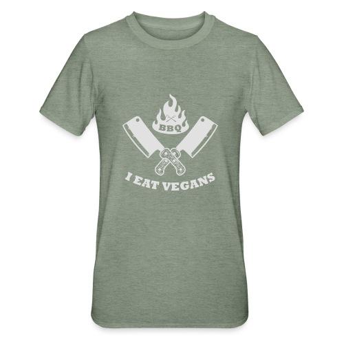 BBQ je mange végétaliens - T-shirt polycoton Unisexe