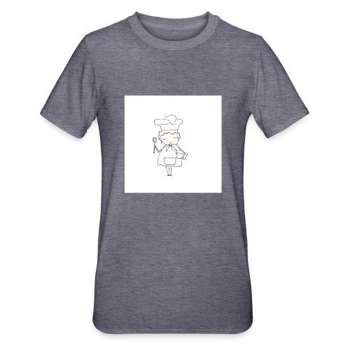 Maglietta 1 - Maglietta unisex, mix cotone e poliestere