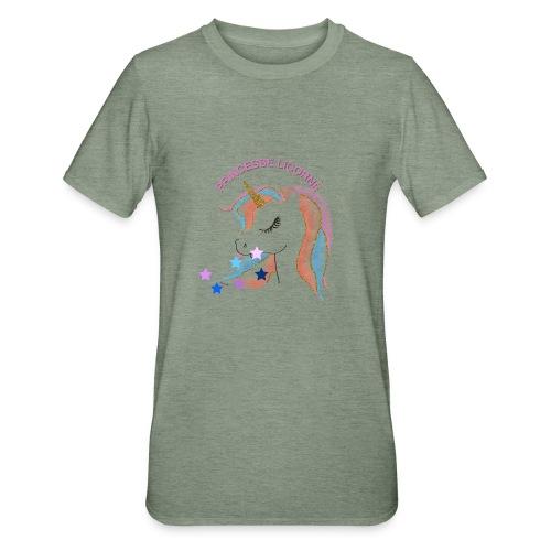 Princesse licorne - T-shirt polycoton Unisexe