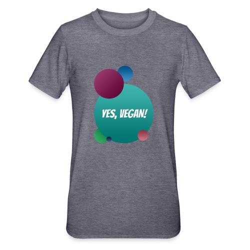 Yes, vegan! - Unisex Polycotton T-Shirt