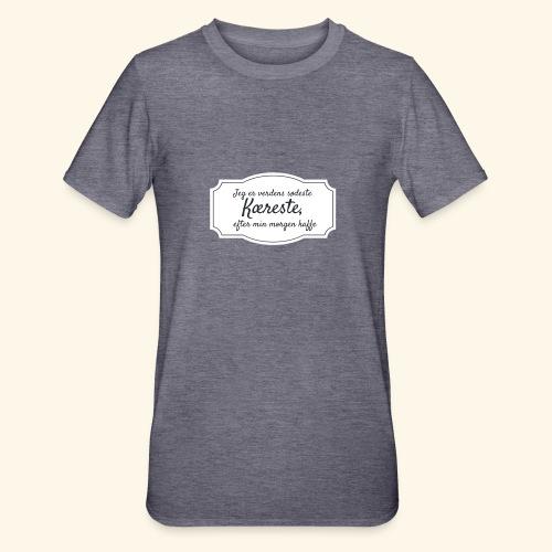 Verdens sødeste kæreste - Unisex polycotton T-shirt
