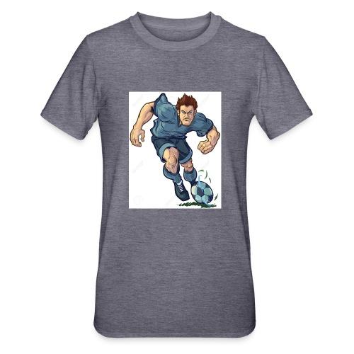 41982995-Vector-de-dibujos-animados-ilustraci-n-de - Camiseta en polialgodón unisex