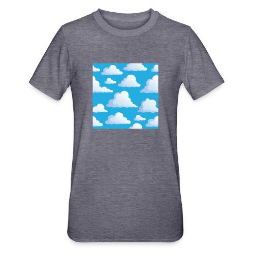 Cartoon_Clouds - Unisex Polycotton T-Shirt