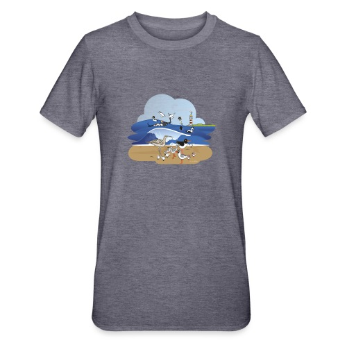 See... birds on the shore - Unisex Polycotton T-Shirt
