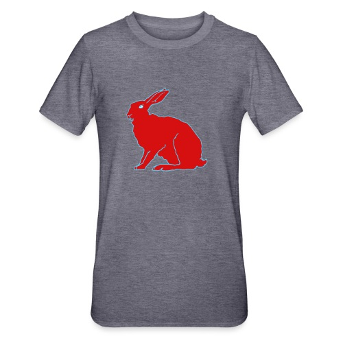 Roter Hase - Unisex Polycotton T-Shirt