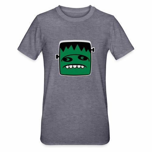 Fonster Weisser Rand ohne Text - Unisex Polycotton T-Shirt