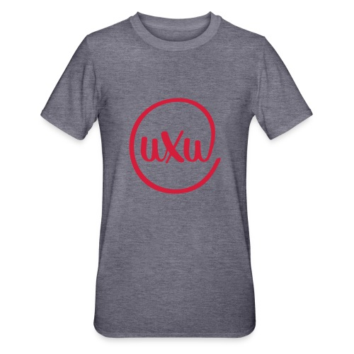 UXU logo round - Unisex Polycotton T-Shirt