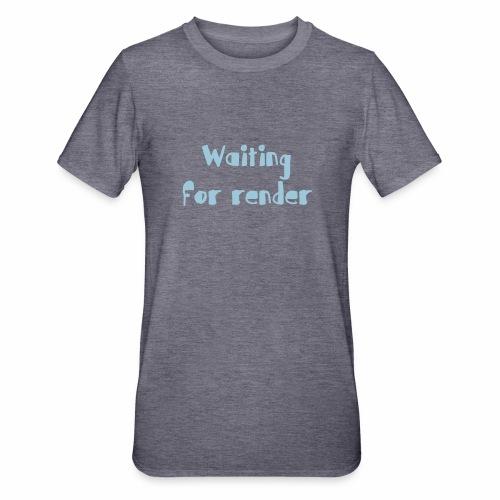 RENDER - Camiseta en polialgodón unisex