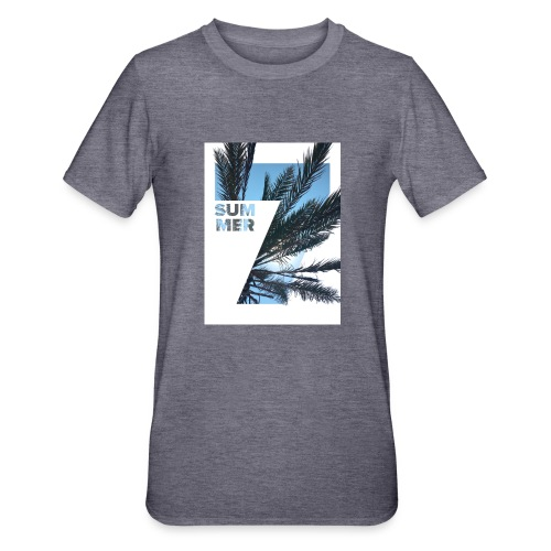Summertime - Unisex Polycotton T-shirt