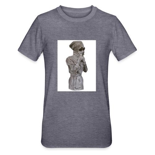 Jackie fondo blanco - Camiseta en polialgodón unisex