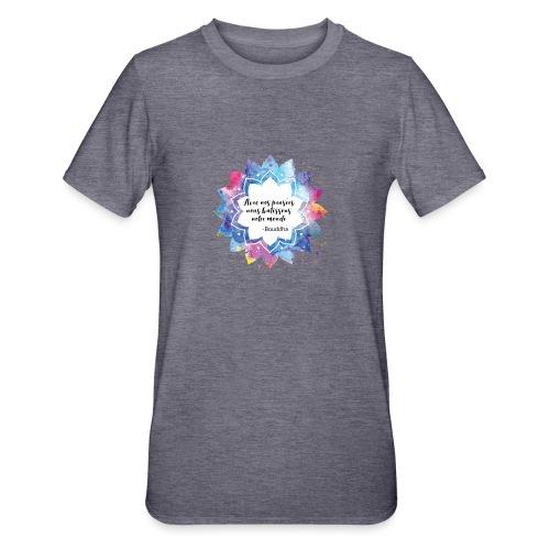 Citation positive de Bouddha - T-shirt polycoton Unisexe