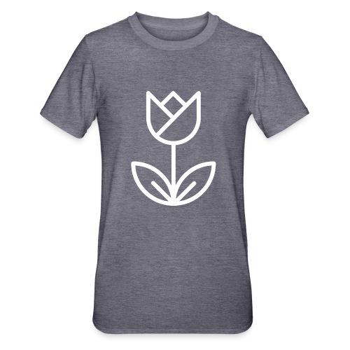 Tulip white png - Unisex Polycotton T-Shirt