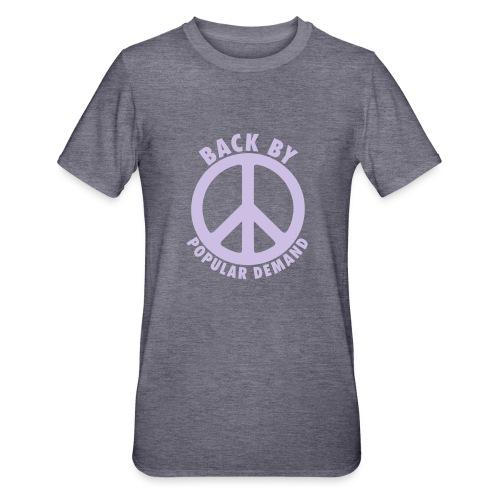 Back by popular demand - Unisex Polycotton T-Shirt