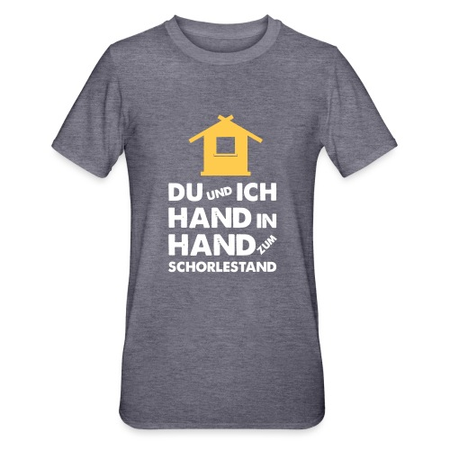 Hand in Hand zum Schorlestand / Gruppenshirt - Unisex Polycotton T-Shirt