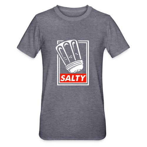 Salty white - Unisex Polycotton T-Shirt