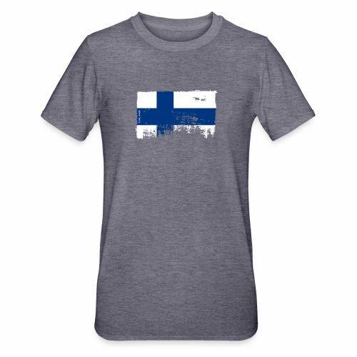 Suomen lippu, Finnish flag T-shirts 151 Products - Unisex polypuuvilla-t-paita