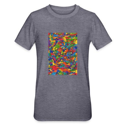 Color_Style - Camiseta en polialgodón unisex