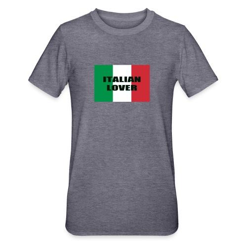 ITALIAN LOVER - Maglietta unisex, mix cotone e poliestere