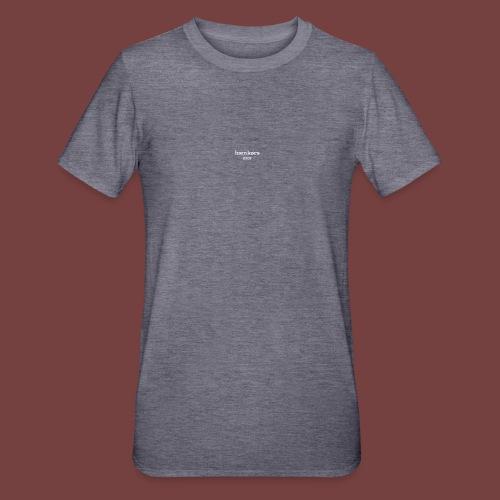 bænkørs hvit tekst - Unisex Polycotton T-skjorte