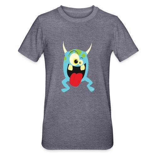 Monster blue - Unisex Polycotton T-shirt