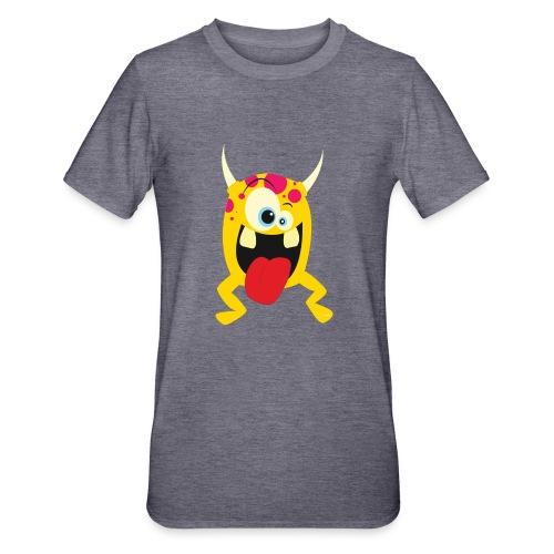Monster Yellow - Unisex Polycotton T-shirt