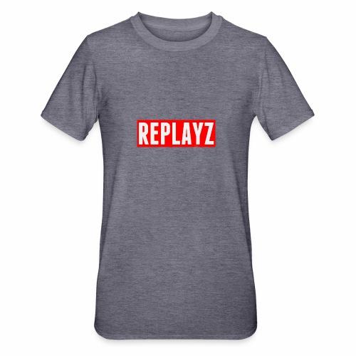 Replayz Red Box Logo - Unisex Polycotton T-Shirt