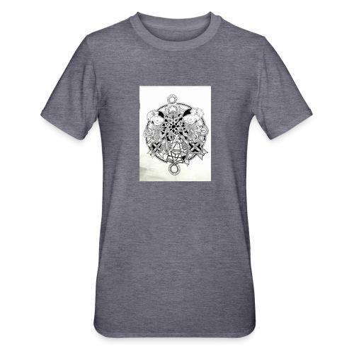 guerriere celtique entrelacs bretagne femme - T-shirt polycoton Unisexe