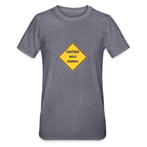 Caution Wild Animal - T-shirt polycoton Unisexe