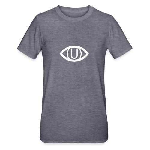 EYE SYMBOL WHITE - Unisex Polycotton T-Shirt