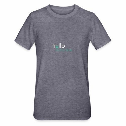 hullo Aircrew Dark - Unisex Polycotton T-Shirt