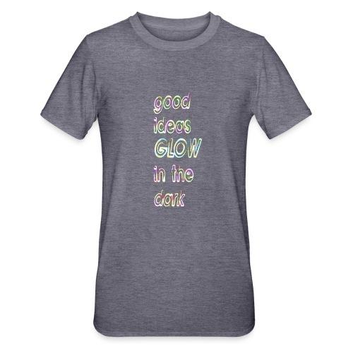 good ideas GLOW in the dark - Camiseta en polialgodón unisex