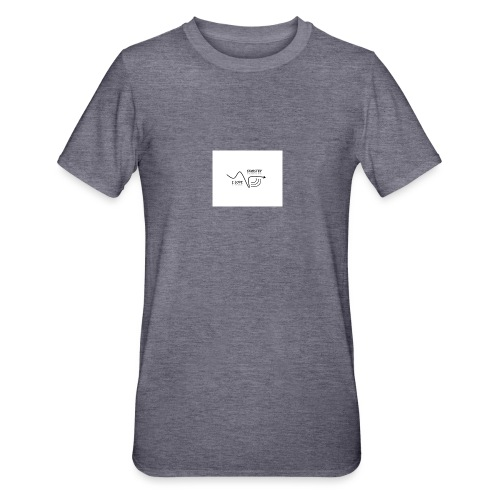 I_LOVE_DUBSTEP - Camiseta en polialgodón unisex