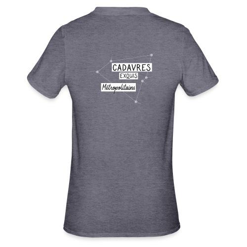 Cadavres Exquis Métropolitains - T-shirt polycoton Unisexe