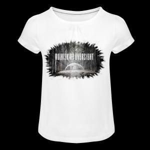 Forme déchiré - Moonshine Oversight - T-shirt à fronces au col Fille