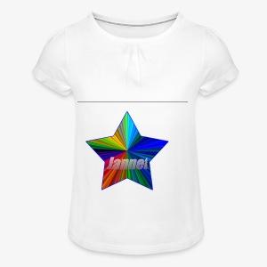OFFICIAL JANNET MERCH - Girl's T-shirt with Ruffles