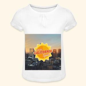 California Spirit City - T-shirt à fronces au col Fille