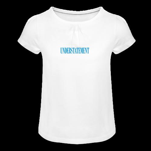 UNDERSTATEMENT - Maglietta da ragazza con arricciatura
