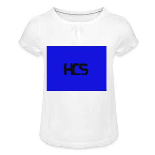 Untitled - Girl's T-shirt with Ruffles